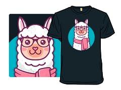 Kawaii Hipster Llama