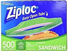 Ziploc Sandwich Bags 125 Count 4 Pack