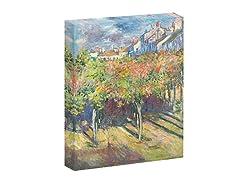Monet Les Tilleuls a` Poissy, 1882