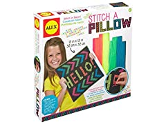 ALEX Toys Craft Stitch A Pixel Pillow
