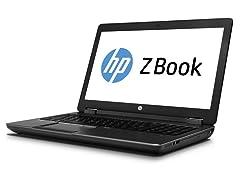 "HP ZBook 15"" Full-HD Intel i7 Quad Core Laptop"