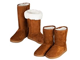 Dawgs 2pk - Women's 9 and 13 inch Microfiber Boots