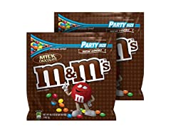 M&M'S Milk Chocolate Party Bag, 2pk