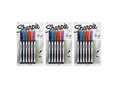 Sharpie Fine Point Pens Assorted Colors -18-Count