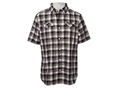 Men's Summit Check - Black Plaid