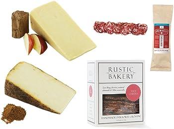 2-Pk BeeHive Cheese w/ Creminelli Salami & Rustic Bakery Crostini