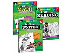 Reading, Writing & Math Workbook Bundle