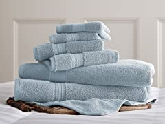 100% Cotton 700 GSM Luxury Spa Collection Towel Set