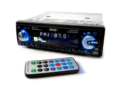 In-Dash 200W CD Receiver w/ USB