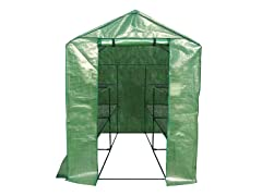 2-Tier 8-Shelf Portable Greenhouse