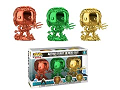 Funko Pop! Aquaman Chrome Set of 3