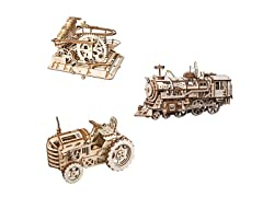 DIY 3D Wooden Model Kit