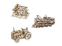 DIY  Mechanical Gears Kit - Tractor