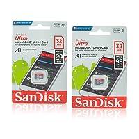Deals on 2 Pack SanDisk SDSQUAR-032G-GN6MN Ultra MicroSDHC CVL 32GB
