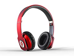 Zoro On-Ear Headphones - Red