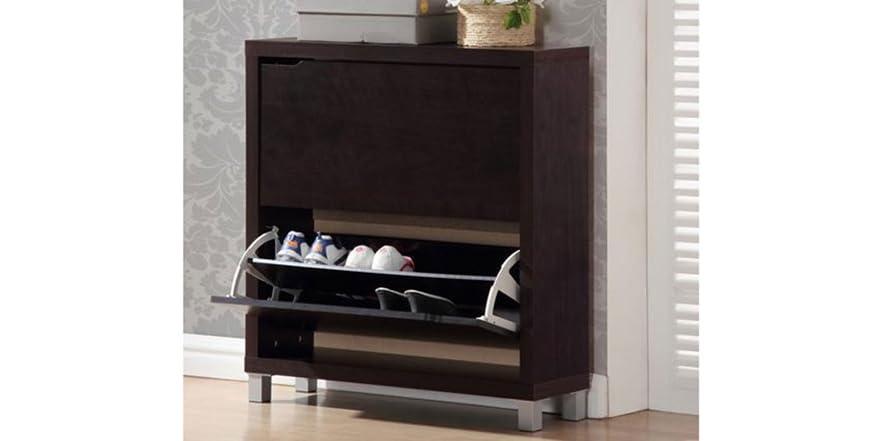 Simms Shoe Cabinet 2 Colors Home & Kitchen