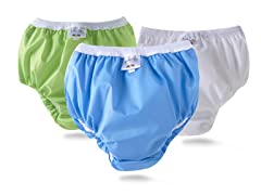 Training Pant 3Pk Blue/White/Lime