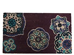 Coir Mat Suzana Purple