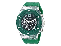 RumbaTime Mercer, Amazon / Black Green