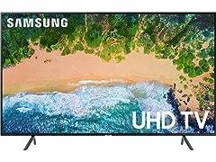 """Samsung 55"""" NU7100 4K Smart LED TV"""