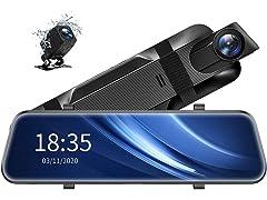 ViviLink VX510 2.5K Mirror Dual Dash Cam