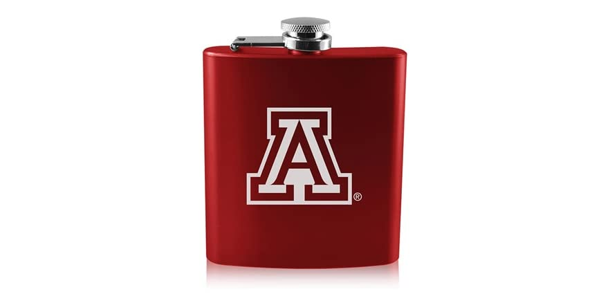 Ncaa Laser Engraved Old Fashioned Flask