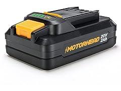 MOTORHEAD Lithium-Ion 2.0Ah Compact Battery