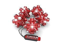 Risk Racing Red Magnetic Light Mine, 5-pk