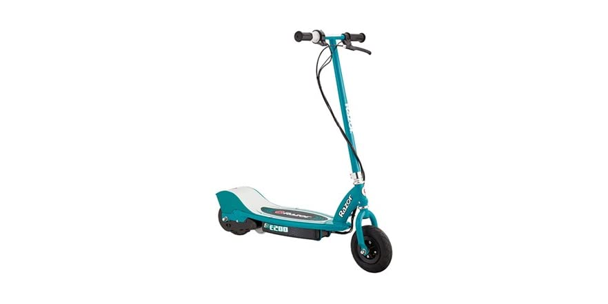 razor e200 teal electric scooter