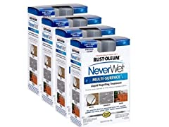 Rust-Oleum Never Wet Multi-purpose Kit, 4-pk