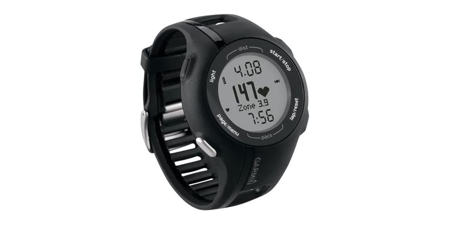 how to turn on a garmin forerunner 210