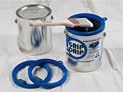 Grip Drips Paint Can Rim Cover (2-Pack)