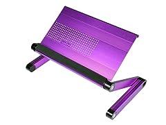 Adj Laptop Desk/Portable Bed Tray - Purple