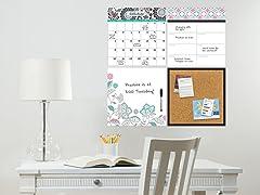 Floral Medley 4-Piece Organizer
