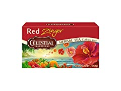 Celestial Seasoning Red Zinger Tea, 20ct