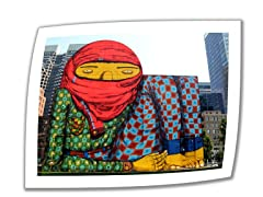 The Giant of Boston by Oz Gemeos - Rolled Canvas