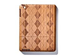 Bamboo Argyle Cover for iPad 2 & 3
