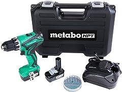 Metabo HPT 12V Cordless Drill Kit