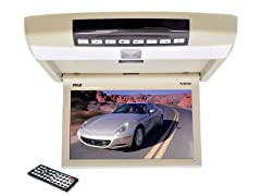 "10.4"" Flip Roof Mount Monitor & DVD Player"