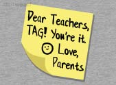 Teacher Tag!