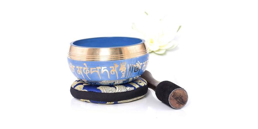Silent Mind Tibetan Singing Bowl Set Pick Style