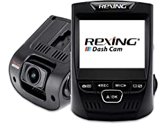 Rexing V1 Basic 1080p Dashcam w/ GSensor