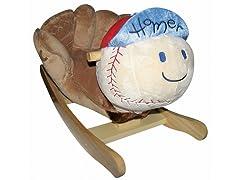 Homer Baseball Musical Rocker
