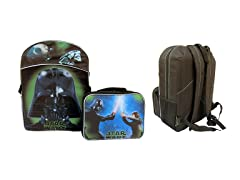 Darth Vader Backpack/Lunch Bag Combo