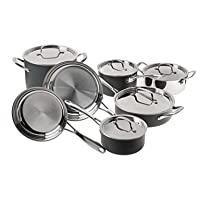 Deals on Cuisinart 12-Piece Clad Induction Cookware Set