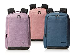 AmazonBasics Carry-On Travel Backpack- Pick Color