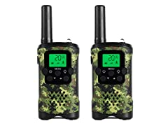 JAJA JJ-220 Kids Camo Walkie-Talkies - 2 Pack