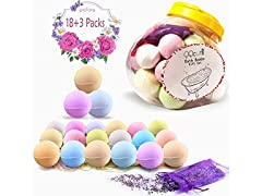 QQcute Bath Bombs Gift Set, 18 PC