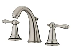 Varese Lavatory Faucet, Brushed Nickel