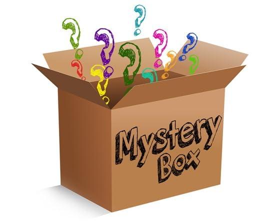 mystery box of electronics